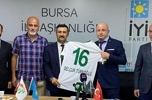 Bursaspor'a İYİ Parti'den 100 kombine sözü