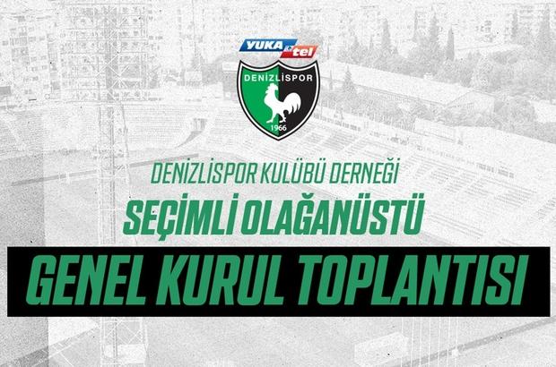 Denizlispor başkan arayışına girdi Denizlispor Kulübü Derneği yeni bir seçime gidiyor