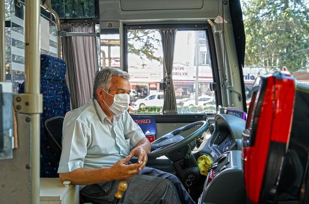 Kahramanmaraş'ta özel halk otobüsü esnafına 25 milyon lira destek