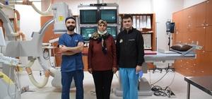 Karaciğer damarına yerleştirilen stent sayesinde nakilden kurtuldu
