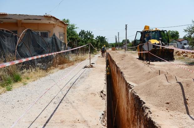 Kepez Kanalizasyon Projesinde yarıya gelindi
