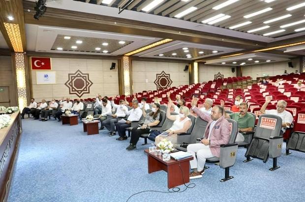 Yunusemre Belediyesi Temmuz ayı meclis toplantısı yapıldı