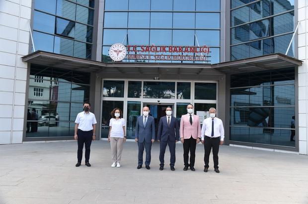 Vali Karadeniz'den kurumlara ziyaret
