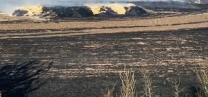 Tunceli'de çıkan yangında 300 ton saman kül oldu