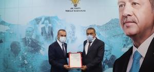 AK Parti Gölpazarı İlçe Başkanlığına Oktay Karcı atandı