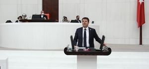 Milletvekili Tutdere, mecliste tütünü konuştu
