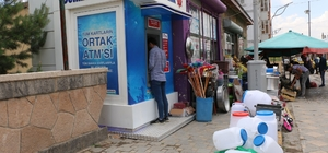 Diyadin'de mevcut ATM'lerin sayısında artış yapıldı