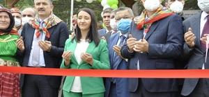 """Bakan Dönmez ve Bakan Pakdemirli, Küçükelmalı Tabiat Parkı'nın açılışına katıldı Tarım ve Orman Bakanı Bekir Pakdemirli: """"Türkiye'de 16 olan tabiat parkı sayısı 256 tane olmuş"""""""