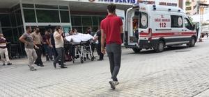 Konya'da inşaatın 4. katından düşen işçi ağır yaralandı