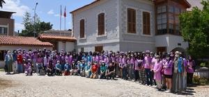 Salihli Kent Müzesi gençlik kampı öğrencilerini ağırladı