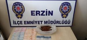 Erzin'de otomobilden uyuşturucu çıktı: 2 gözaltı