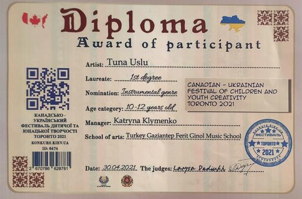 SANKO Okulları öğrencilerinin piyano başarısı Tuna Uslu, piyano yarışmasında dünya birincisi oldu Samet Yiğit Çupurbaş, London College Of Music Piyano sınavında yüksek derece takdir belgesi kazandı