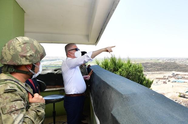 Cerablus Hastanesi Ek Poliklinik Binası hizmete alındı Vali Gül, Cerablus ve Karkamış'ta incelemelerde bulundu