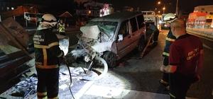 Çiftlikköy'de trafik kazası:  1 yaralı