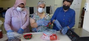 Hataylı kadınlar Almanya'ya çilek reçeli ihraç ediyor