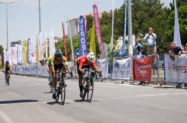 Kayseri'de Uluslararası Erciyes Yol Bisiklet Yarışları heyecanı