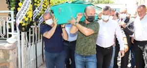 Başkan Öküzcüoğlu'nun babası son yolculuğuna uğurlandı