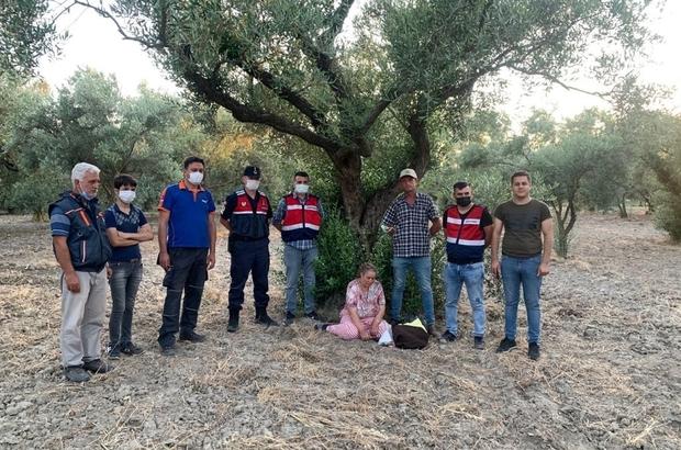 Kaybolan engelli kadını jandarma ekipleri buldu