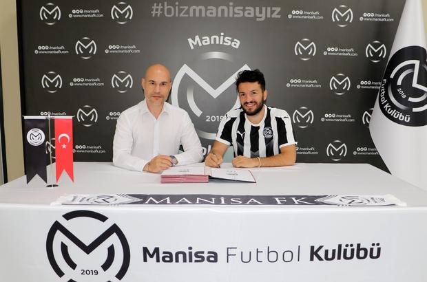 Manisa FK'da Özgür Çek sözleşme imzaladı