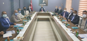 İlçe Milli Eğitim Müdürleri Toplantısı Domaniç'te yapıldı