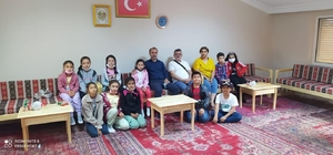 Küçükelmalı'daki Ekoturizm ve Eğitim Kampı ilk misafirlerini ağırladı