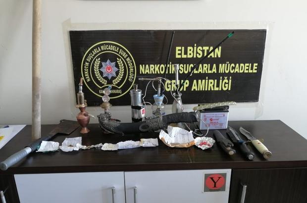 Elbistan'da uyuşturucu operasyonu: 11 gözaltı