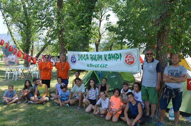 Çocuklar eğlenirken öğrendi Muğla'da doğa ve bilim kampı düzenlendi