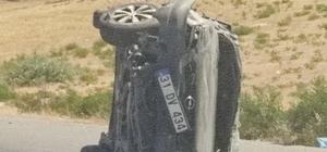 Batman Kozluk karayolunda trafik kazası meydana geldi