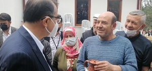 Çömlek ustaları doğalgaz isteklerini Bakan Dönmez'e iletti