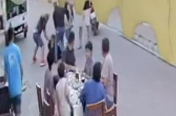 Restoranı ringe çevirdiler, bir kişiyi öldüresiye dövdüler Çevredekilerin şaşkın bakışları arasında öldüresiye darp ettiler