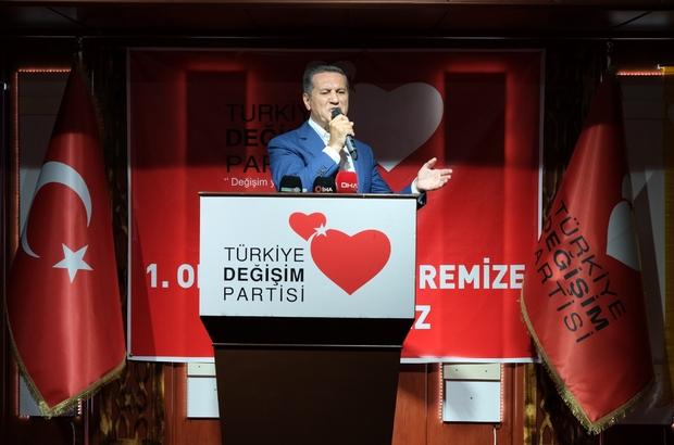 """Sarıgül muhalefet partilerini yetersiz buldu Türkiye Değişim Partisi Genel Başkanı Mustafa Sarıgül: """"Diğerleri 10 defa seçime girdi başarı elde edemediler"""""""