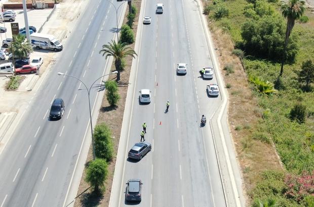 Droneli denetim sürücülerin korkulu rüyası oldu Adana'da yılın ilk 6 ayında kural ihlali yaptığı drone ile tespit edilen bin 336 sürücüye ceza yazıldı