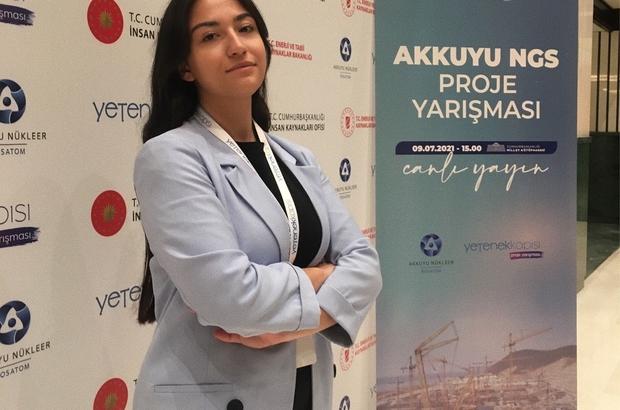 Altıparmak'ın başarısı Akkuyu Nükleer Güç Santrali Yetenek Kapısı Proje Yarışması'nda, Adana ATÜ Bilgisayar Mühendisliği Bölümü 3. sınıf öğrencisi Zeynep Altıparmak'ında yer aldığı ATOMSEC grubu birinci oldu