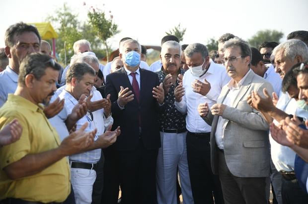 Kozan'a imece usulü park Şehit Süleyman Özcan Çocuk Parkı ve Spor Tesisi açıldı