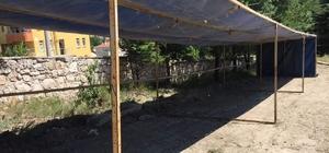 Emet'te kurban pazarı alanı hazır