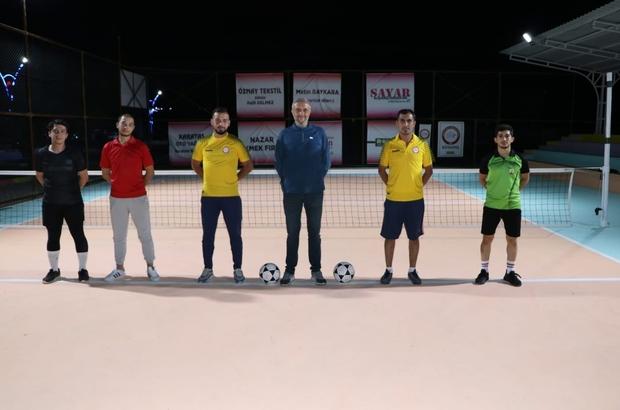 Simav'da 'Ayak tenisi' turnuvası