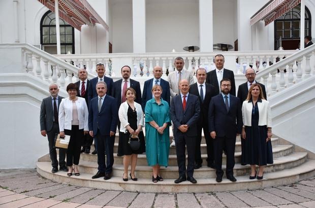 Rektör Erdal, Türkiye-Birleşik Krallık iş birliği değerlendirme toplantısına katıldı