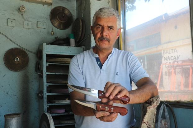 Çin'de yapılıyor üzerinde Sivas yazıyor Coğrafi Tescil belgeli Sivas bıçağı ustası, internet üzerinden satışa sunulan ve üzerlerinde 'Sivas' yazan sahte bıçaklara karşı uyardı