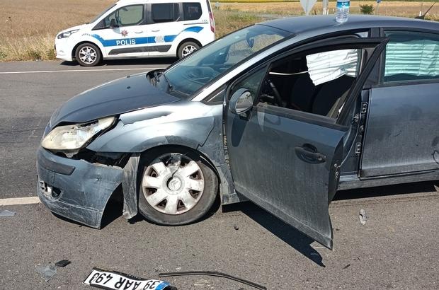 Muratlı çevreyolunda trafik kazası: 1 yaralı