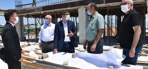 Başkan Çelik Sancaklıbozköy projesini inceledi