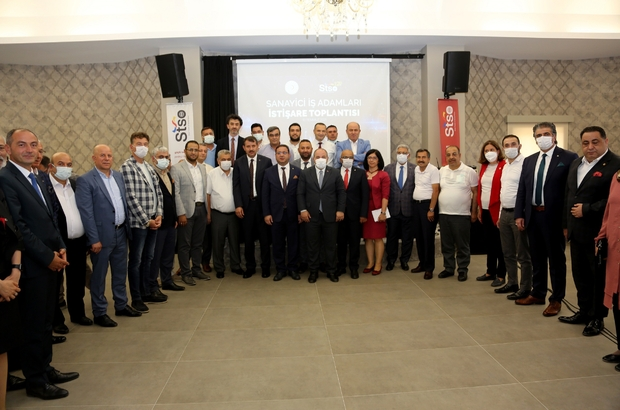 OSB'de istihdam hedefi 15 bin kişi Sivas Ticaret ve Sanayi Odası (STSO) Başkanı Mustafa Eken, Sanayi ve Teknoloji Bakanı Mustafa Varank'ın ziyareti ve yaptıkları görüşmeyi değerlendirdi