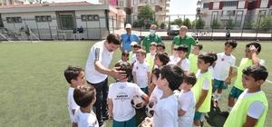 Karatay Yaz Spor Okulları eğitimleri devam ediyor