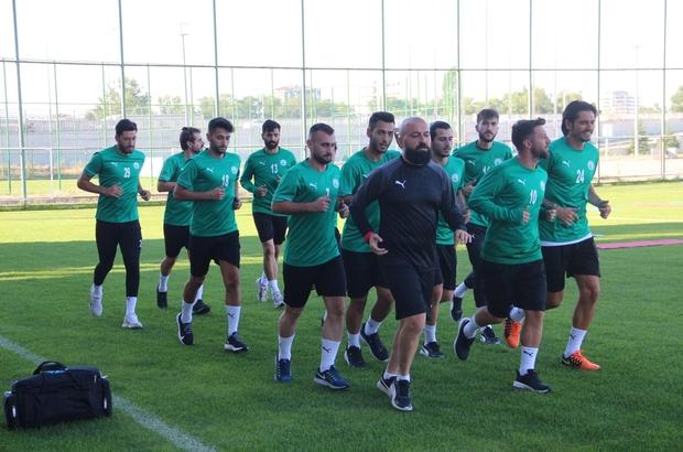 Sivas Belediyespor'un 1. etap kampı başladı