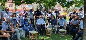 Başkan Büyükkılıç mahalle gezilerine Başakpınar ile devam etti