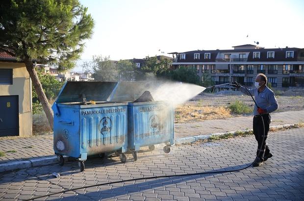 """Pamukkale Belediyesi karasinekle mücadelesini sürdürüyor """"Yaz, kış tüm ilçemizde ilaçlama çalışmalarımızı aralıksız sürdürüyoruz"""""""