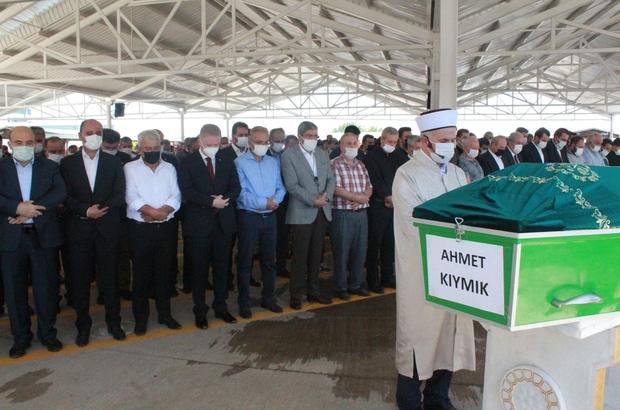 Fatma Şahin'in amca acısı Başkan Fatma Şahin'in amcasının cenazesi dualarla defnedildi