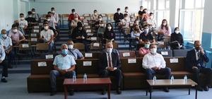 Mesleki Eğitim Merkezi'nde diploma töreni düzenlendi