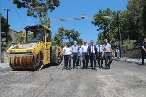 Başkan Bilgin: İşimiz de gücümüz de Sivas Sivas Belediyesi şehir içi yolların standardını arttırmak için çalışmalarına hız kesmeden devam ediyor