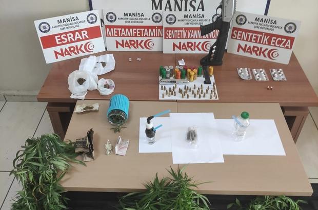 Manisa'da uyuşturucu operasyonu: 18 gözaltı