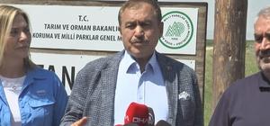 """TBMM Küresel İklim Değişikliği Komisyonu Sultan Sazlığı'nda incelemelerde bulundu Komisyon Başkanı Prof. Dr. Veysel Eroğlu: """"Zamantı tünelinden Sultan Sazlığına yılda 11 milyon metreküp su aktarıyoruz"""""""